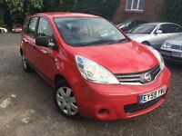 Nissan NOTE VISIA 1.4 MPV *01 Owner from NEW* Guaranteed Miles *HPI Check* FREE 03-Months Warranty
