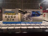 Draper storm force angle grinder 650w. Tools
