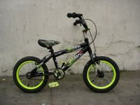 Kids Bike, by Avigo, Black, 14 inch Wheels, Great for Kids 4 Years, JUST SERVICED / CHEAP PRICE!!!!!