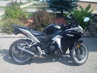 2012 Honda CBR 250 w/ABS and lots of upgrades!