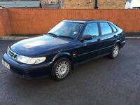 SAAB 9-3 S FULL SAAB SERVICE HISTORY 18 STAMPS JUNE MOT DRIVES NICE RELIABLE CAR FOR PENNIES CHEAP