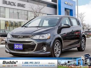 2018 Chevrolet Sonic LT Auto 0% for up to 24 months O.A.C.!