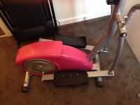 Cross Trainer Exercise Machine PINK