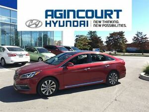 2015 Hyundai Sonata Sport/SUNROOF/BLINDSPOT/BACKUP CAM/PUSH BUTT