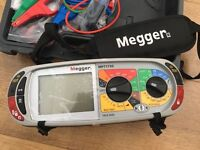 Megger MFT1730, top of the range with all the features you would expect from a market leader