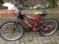 Boys mountain bike bicycle