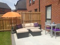 L Shaped Garden Furniture