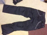 Waterproof motorcycle trousers