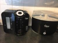 Tomee tippee milk machine and electric steriliser set