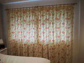 EXCELLENT QUALITY CURTAINS - PROFESSIONALLY MADE & FULLY LINED