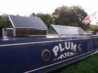 Solar panel systems for canal boat or motor home