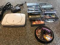 PS One, Pad, Memory Card, 16 Games
