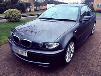 BMW 320d M Sport 2dr Coupe. Immaculate condition. Very low mileage.