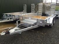 Dale Kane plant trailer 10x6 machinery diggers