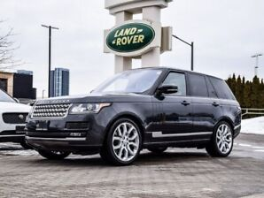 2017 Land Rover Range Rover ALMOST EVERY OPTION AND CPO WARRANTY