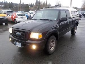 2007 Ford Ranger Sport SuperCab 4 Door 2WD with Canopy