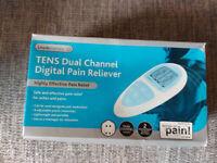 TENS Machine : Lloyds Pharmacy TENS Dual Channel Digital Pain Reliever