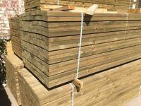 Timber rails c16 grade Pressure Treated green