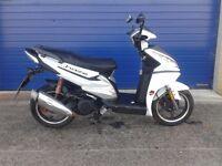 2015 herald haze 125 sports scooter 125cc