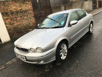 rare manual 2003 jaguar x type 2.1 V6 - Long MOT 2019 - Very clean - great Driver -