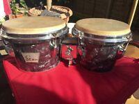 Vintage 1960's Star Bongos Drums