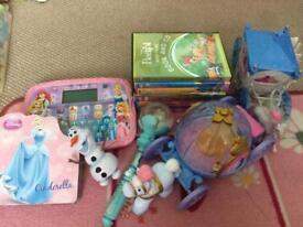 Disney princess toy bundle