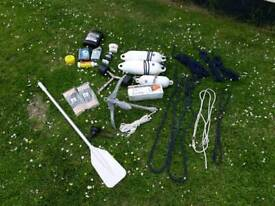 Boat stuff, anchor, maintenance, lines etc. - pick what you need