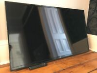 55inch LED TV - Bush 55-148F. Includes Freeview
