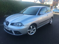2007*SEAT IBIZA SPORT 1.4 PETROL*2 OWNERS*10MONTHS MOT*CAMBELT CHANGED*FULL SERVICE HISTORY*
