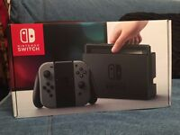 Brand new Nintendo Switch Grey for sale