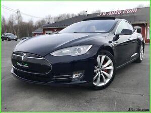 2014 Tesla Model S85 Toit Panoramique,Supercharger gratuit a vie