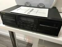 Pioneer CT-W208R double cassette deck