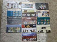 Stamp Presentation Packs 2007 - 2009.