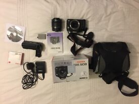 Canon EOS 500D EFS 18-55 IS Kit + extras