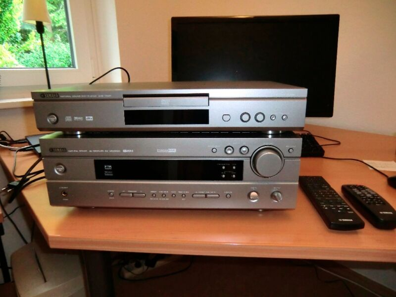 yamaha receiver in niedersachsen burgwedel radio receiver gebraucht kaufen ebay. Black Bedroom Furniture Sets. Home Design Ideas