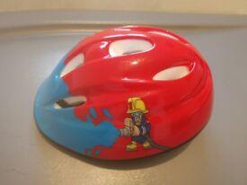 Firechief bicycle helmet