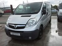 **FOR BREAKING** 2011 Vauxhall Vivaro 2900 LWB 2.5 Cdti (6 speed).