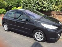 GREAT FIRST CAR, 207 Sport 1.4 5Dr Black