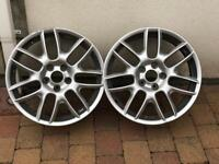 "Seat Leon 19"" BBS Alloys x 2 only"