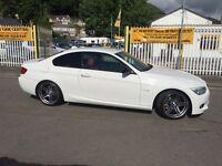 BMW 3 SERIES 3.0TD 335d Sport Plus 2dr DCT Auto (white) 2012
