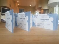 6 x Tickets to Sold Out Russell Brand @ Brighton Dome!