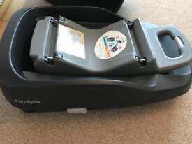 Maxi cosi family fix isofix car seat base x 2