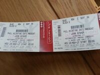 Pair of John Bishop - Winging It - Tickets. Motorpoint Arena, Cardiff. Block 2, Row E at the front!