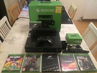 Xbox one with Kinect & TV tuner plus extras