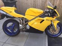 Ducati 748 S 1998 HPI CLEAR Future Classic Make Offer!!!! May P/X