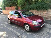 Renault Clio 1.5 dci diesel 2002 cheap tax and insurance!!!