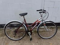 Nice ladies hybid up right bike woman's ** i can deliver **