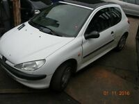 206 Peugeot 206 LX 1360 cc 1998 -- 2006 , !!!!!BREAKING FOR SPARES / PARTS !!!!!