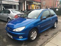 Peugeot 206 - 3 door - 1.2 - small engine - perfect for new driver