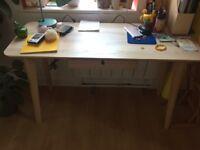 ikea veneer desk